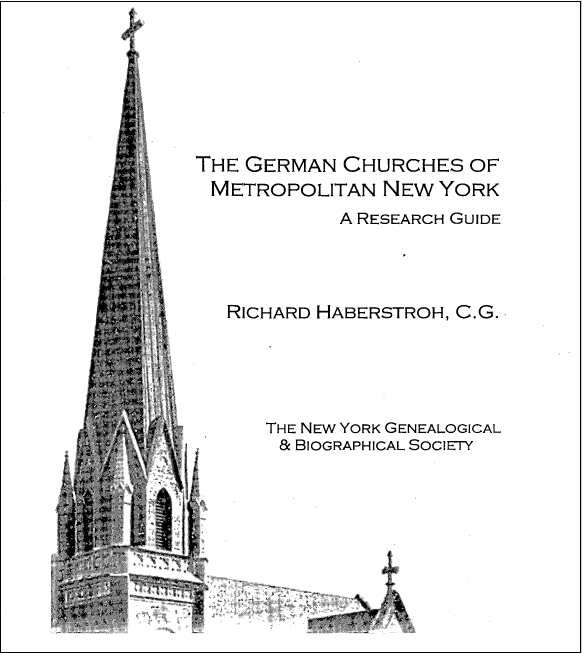 Reformed Dutch and German churches of Manhattan and the