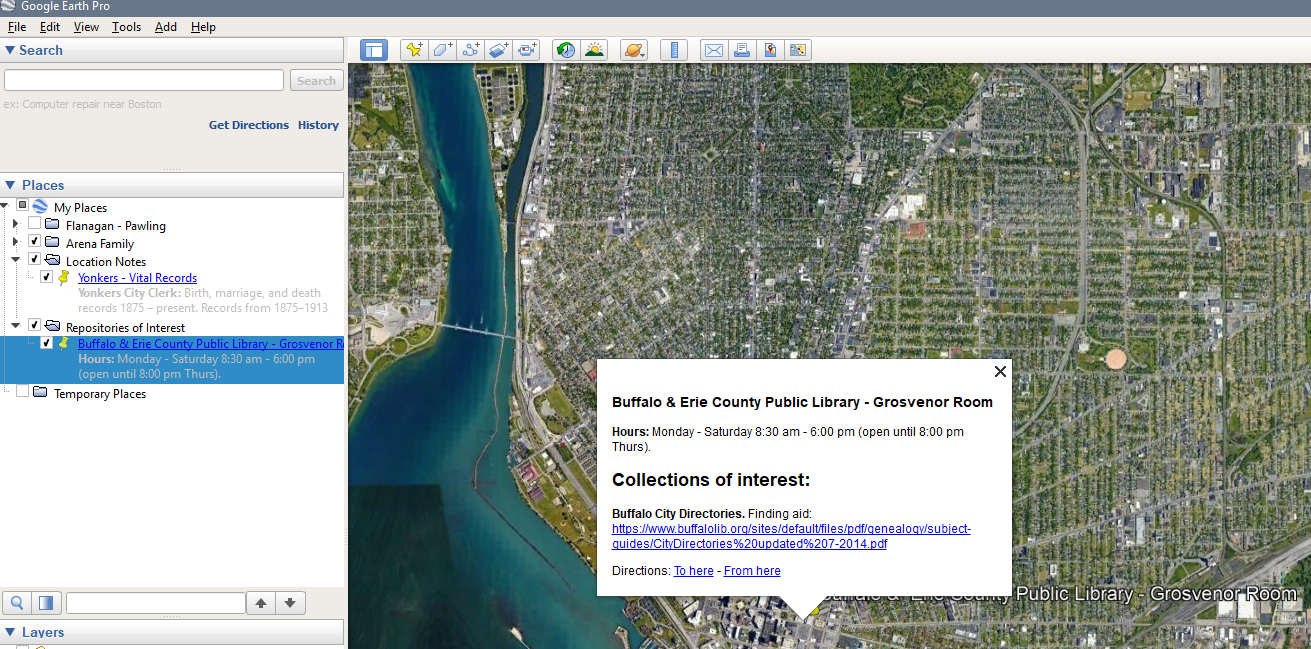 Google Earth for Genealogy, Part 1: Putting Your Ancestors on the ...