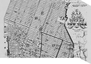 Lower East Side New York Map.A New Look At The Demographics Of A 19th Century Lower East Side