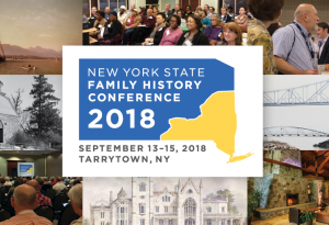 The 2018 New York State Family History Conference