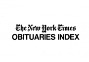 New York Times Obituary Index Title Page